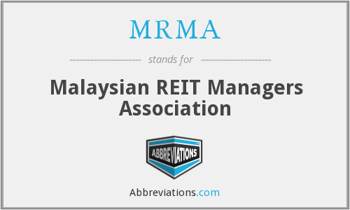 What does MRMA stand for?