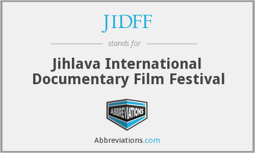 What does JIDFF stand for?