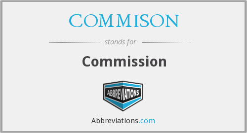 What does COMMISON stand for?