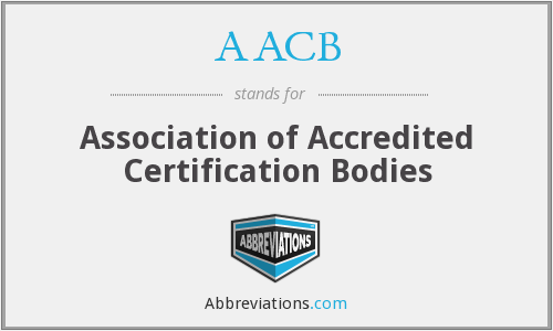 AACB - Association of Accredited Certification Bodies