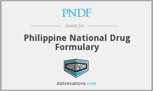 What does PNDF stand for?