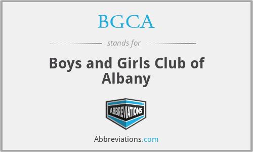 BGCA - Boys and Girls Club of Albany