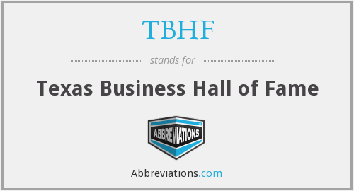 What does TBHF stand for?
