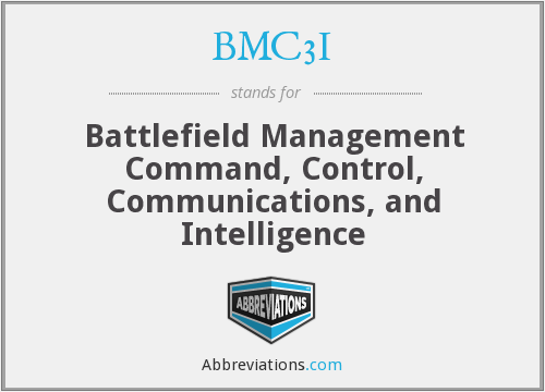 BMC3I - Battlefield Management Command, Control, Communications, and Intelligence