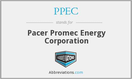 PPEC - Pacer Promec Energy Corporation