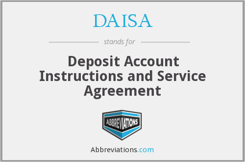 What does DAISA stand for?