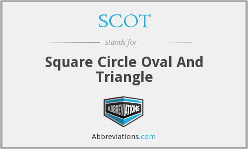SCOT - Square Circle Oval And Triangle