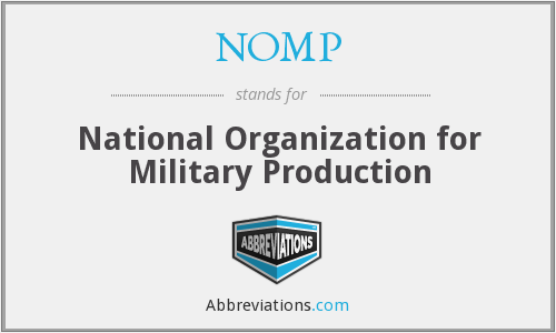 What does NOMP stand for?