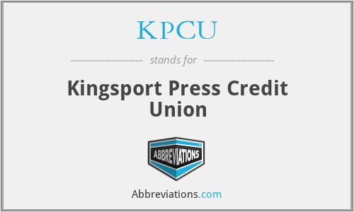 KPCU - Kingsport Press Credit Union