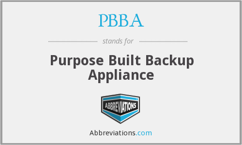 What does PBBA stand for?