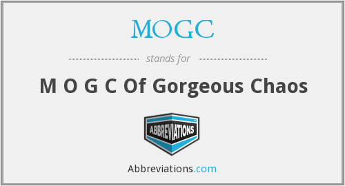 What does MOGC stand for?
