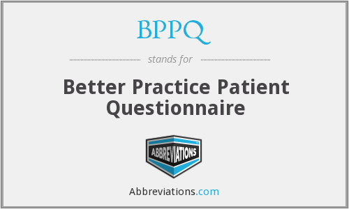 What does BPPQ stand for?