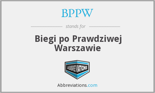 What does BPPW stand for?