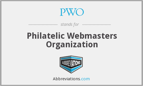 PWO - Philatelic Webmasters Organization