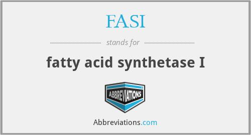 FASI - fatty acid synthetase I