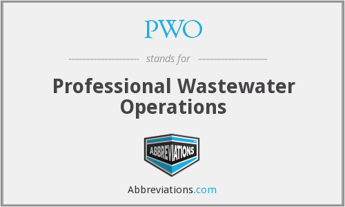 PWO - Professional Wastewater Operations