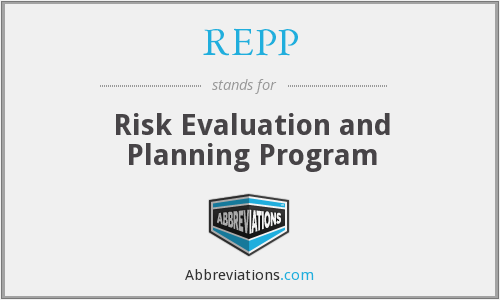 REPP - Risk Evaluation and Planning Program