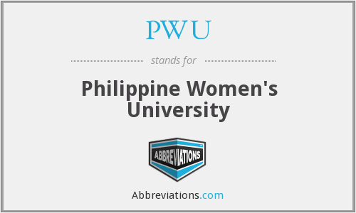 PWU - Philippine Women's University