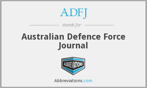 What does ADFJ stand for?