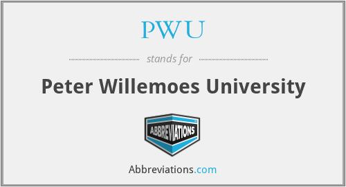 PWU - Peter Willemoes University