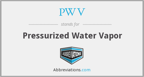 PWV - Pressurized Water Vapor