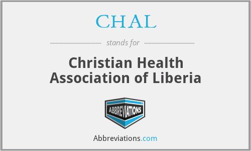 CHAL - Christian Health Association of Liberia