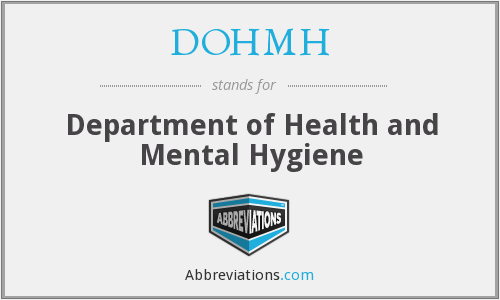 What does DOHMH stand for?