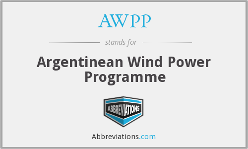 AWPP - Argentinean Wind Power Programme