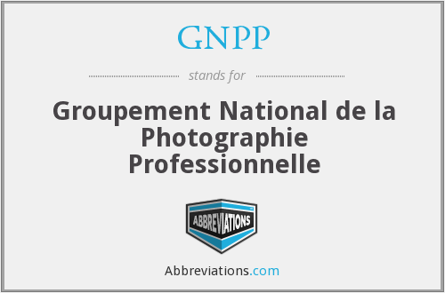 What does GNPP stand for?