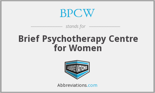 What does BPCW stand for?