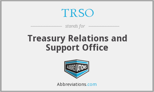 What does TRSO stand for?