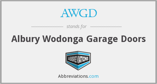 What does AWGD stand for?