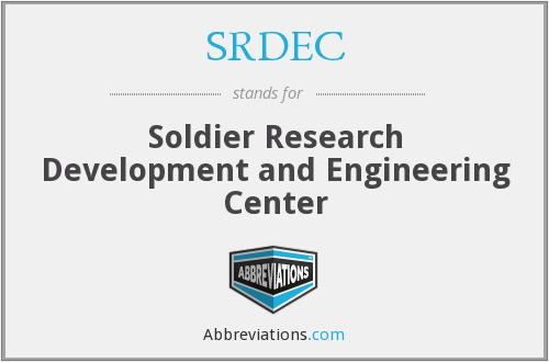 What does SRDEC stand for?
