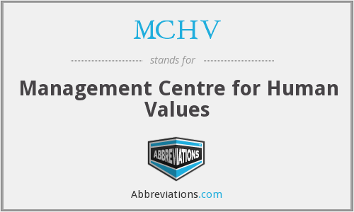 What does MCHV stand for?