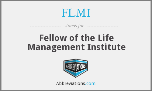What does FLMI stand for?