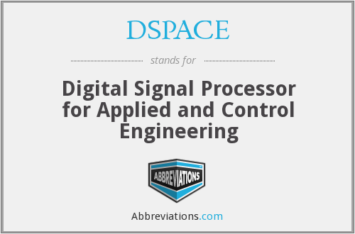What does DSPACE stand for?