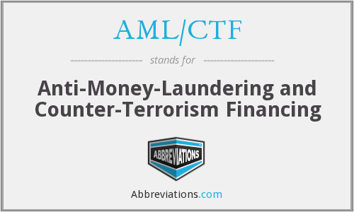 What does AML/CTF stand for?