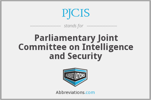 What does PJCIS stand for?