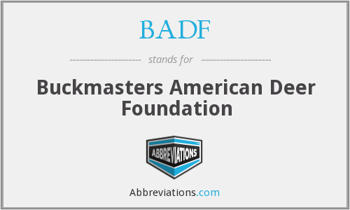 What does BADF stand for?