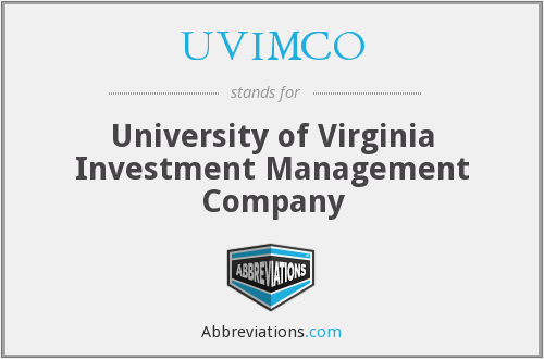 University of virginia investment company media press investment srl