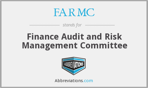What does FARMC stand for?