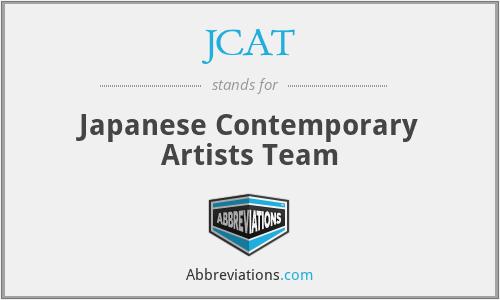 JCAT - Japanese Contemporary Artists Team