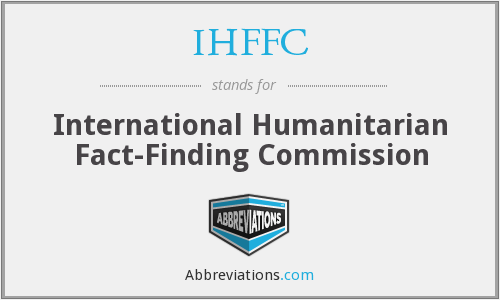 IHFFC - International Humanitarian Fact-Finding Commission