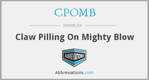 What does CPOMB stand for?