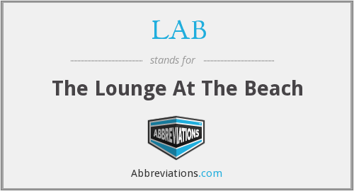 LAB - The Lounge At The Beach