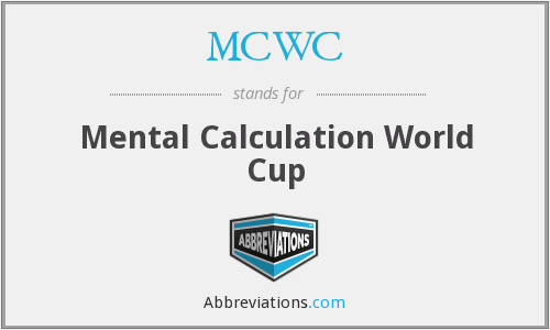 What does MCWC stand for?
