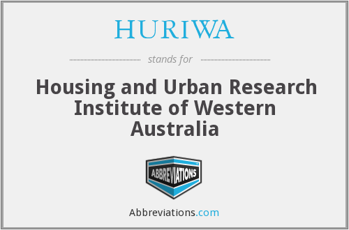 What does HURIWA stand for?