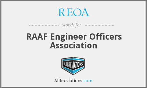 What does REOA stand for?