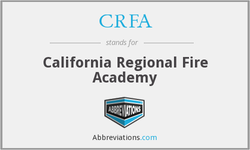 What does CRFA stand for?