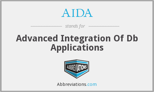AIDA - Advanced Integration Of Db Applications